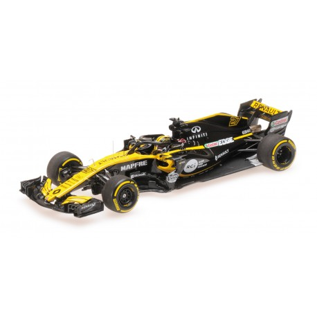 Renault RS18 F1 2018 Nico Hulkenberg Minichamps 417180027