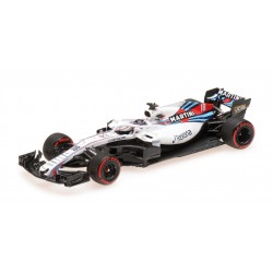 Williams Mercedes FW41 F1 2018 Lance Stroll Minichamps 417180018