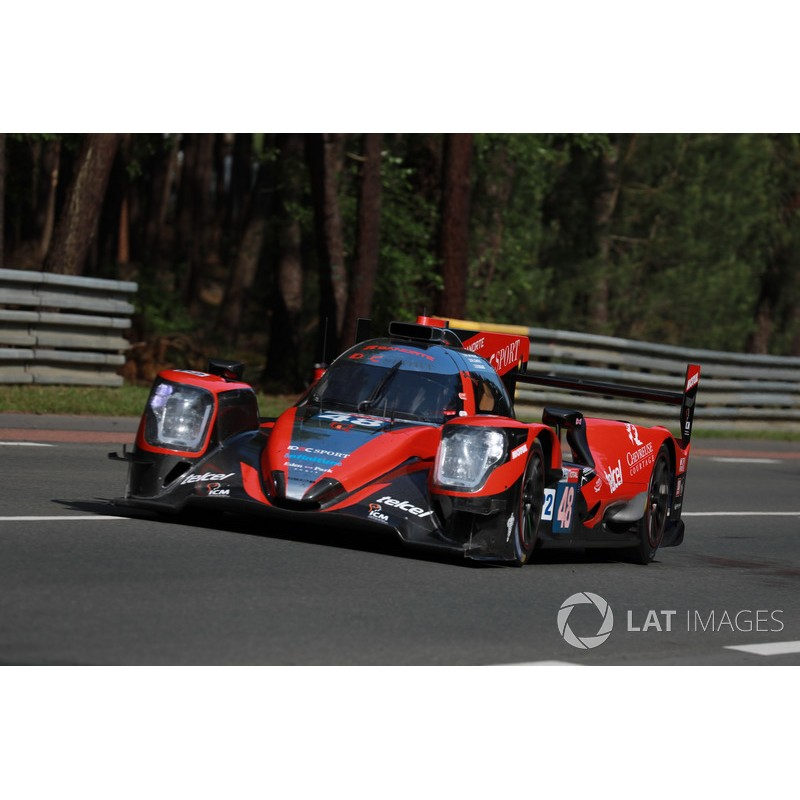 oreca 07 gibson 48 24 heures du mans 2018 spark s7028 miniatures minichamps. Black Bedroom Furniture Sets. Home Design Ideas