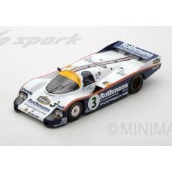 Porsche 956 3 WINNER 24 Heures du Mans 1983 Spark 18LM83