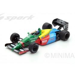 Benetton Ford B188 F1 Angleterre 1988 Alessandro Nannini Spark 18S221