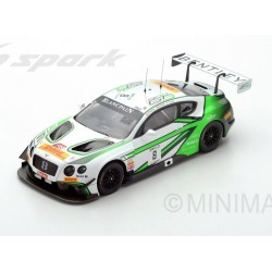Bentley Continental GT3 8 24 Heures de Spa Francorchamps 2017 Spark 18SB007