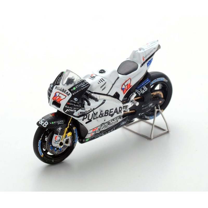 ducati gp15 17 karel abraham moto gp 2017 spark m43022 miniatures minichamps. Black Bedroom Furniture Sets. Home Design Ideas