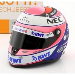 Casque 1/2 Sergio Perez F1 2018 Schuberth
