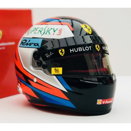 Casque 1/2 Kimi Raikkonen F1 2018 Bell 4183340