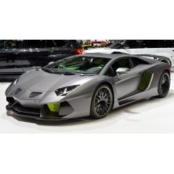 Lamborghini Aventador Aftermarket Grigio Titans with green details Looksmart LS492A