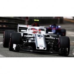 Alfa Romeo Sauber Ferrari C37 16 F1 Monaco 2018 Charles Leclerc Minichamps 417180616