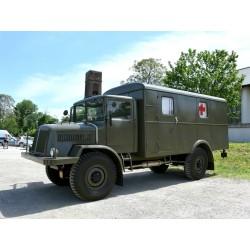 Tatra 128 Box Wagon Matt Olive 1951 IXO PCL47079