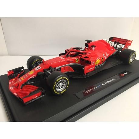 Ferrari SF71H F1 2018 Kimi Raikkonen Bburago 16806R