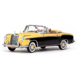 Mercedes-Benz 220 SE Cabriolet Yellow Brazil Brown Vitesse VI28626