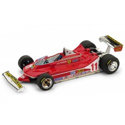Ferrari 312 T4 F1 Italie 1979 Jody Scheckter Minichamps BBR187911