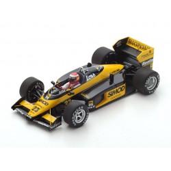 Minardi M187 F1 Monaco 1987 Adrian Campos Spark S4305