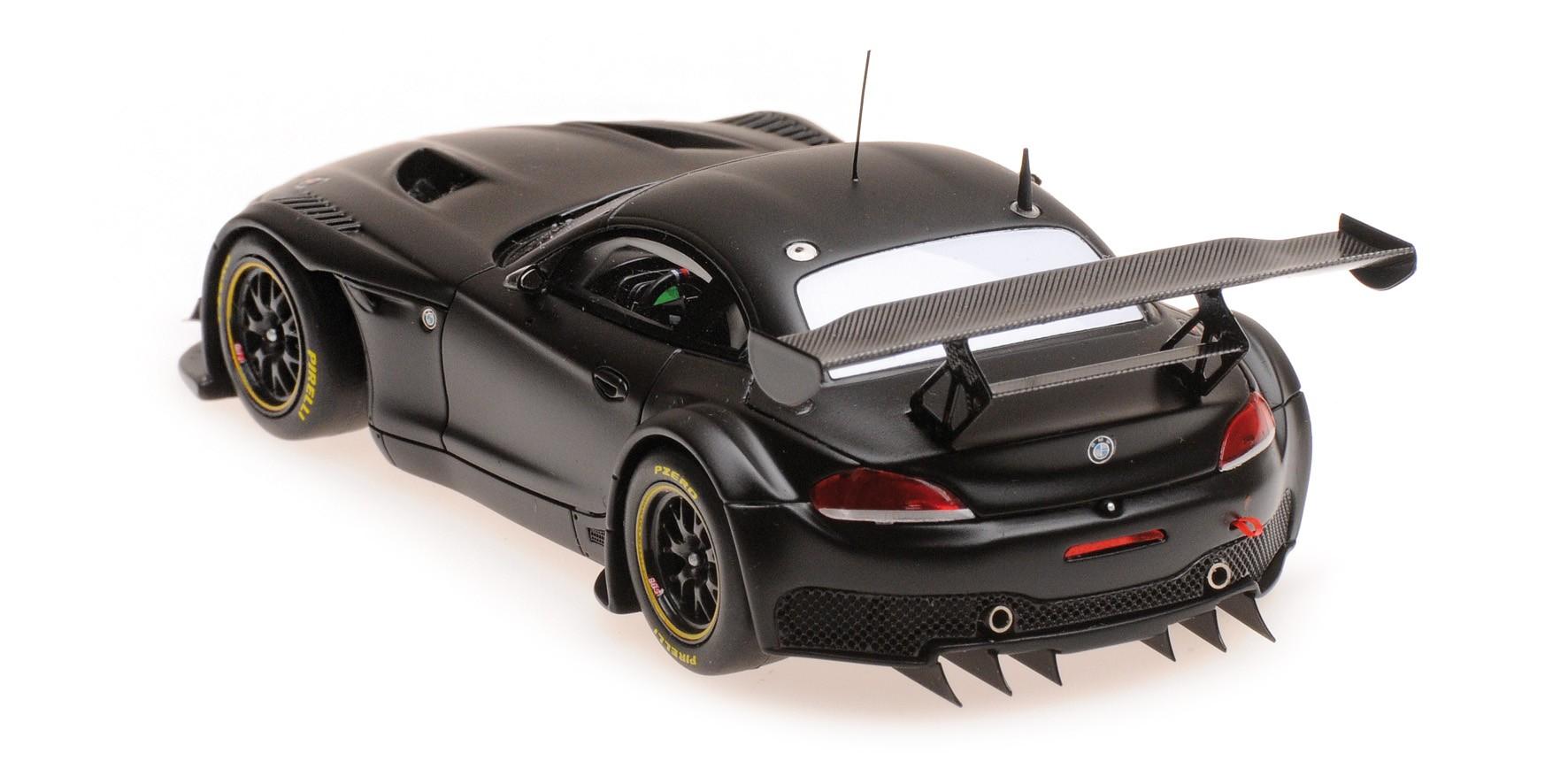 PLAIN BODY Minichamps 1:43 BMW Z4 GT3 SATIN BLACK