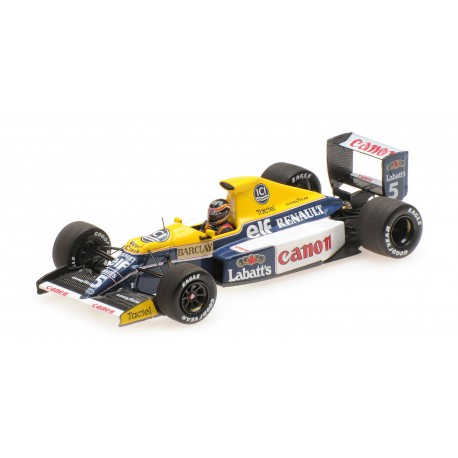 Williams Renault FW13B F1 1990 Thierry Boutsen Minichamps 437900005