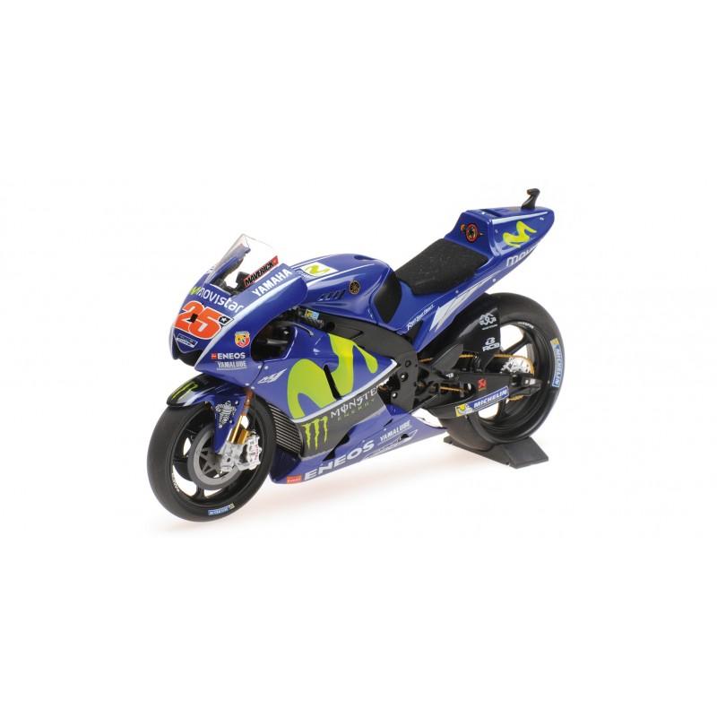 Yamaha YZR-M1 25 Moto GP 2017 Maverick Vinales Minichamps 122173025 - Miniatures Minichamps