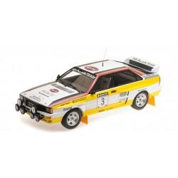 Audi Quattro A2 3 Rallye Nouvelle Zélande 1984 Blomqvist Cederberg Minichamps 155841103