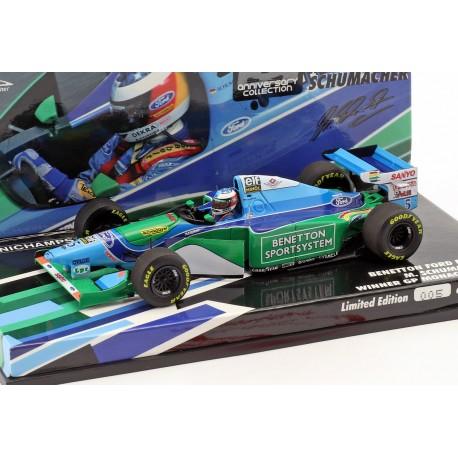 Benetton Ford B194 F1 Winner Monaco 1994 Michael Schumacher Minichamps 447940405