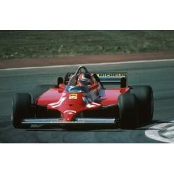 Ferrari 126CK F1 Espagne 1981 Gilles Villeneuve Looksmart LSRC03