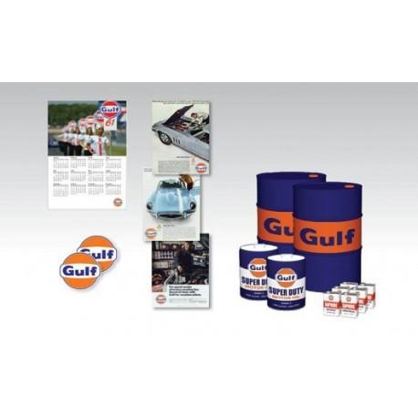 Gulf Oil Pack 1/18 Truescale 12AC23