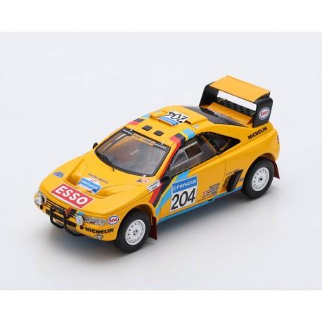 Peugeot 405 T16 Grand Raid 204 2ème Rallye Paris Dakar 1990 Waldegard Fenouil Spark S5625