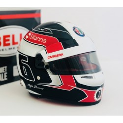 Casque 1/2 Charles Leclerc F1 2018 Bell 4184042