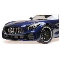 Mercedes AMG GTR 2017 Bleue Minichamps 155036022