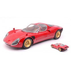 Alfa Romeo Tipo 33 Stradale Rouge 1967 IXO PCL40036