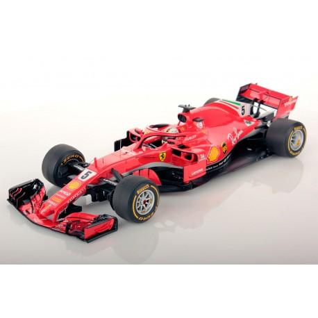Ferrari SF71H F1 Winner Australie 2018 Sebastian Vettel Looksmart LS18F1013