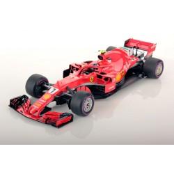 Ferrari SF71H F1 Australie 2018 Kimi Raikkonen Looksmart LS18F1014