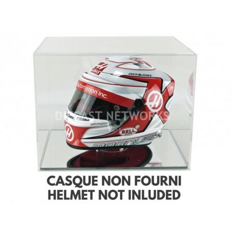 Boitier Showcase Casque Helmet 1/2 Socle miroir Magic Dioramax BV2M