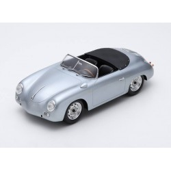 Porsche 356 Speedster Carrera 1956 Silver Spark 12S004