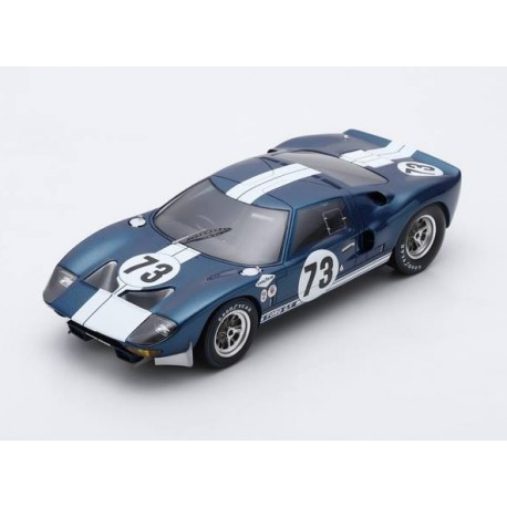 Ford GT 73 2000 Km de Daytona 1965 Miles Ruby Spark S18DA65