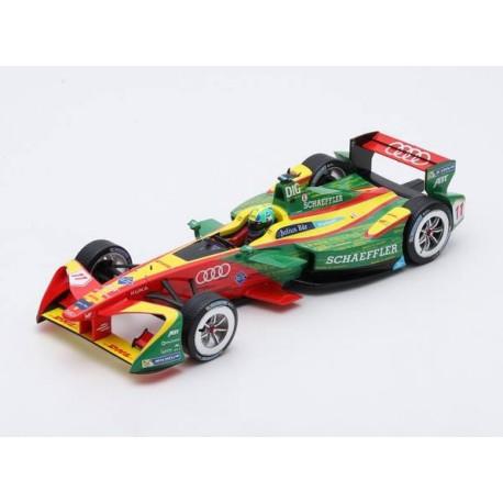Audi Sport ABT Schaeffler 11 Formula E Champion Season 3 2017 Lucas Di Grassi Spark S18FE03