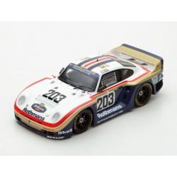 Porsche 961 203 24 Heures du Mans 1987 Spark 18S210