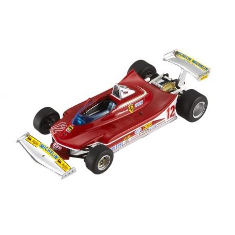 Ferrari 312T4 F1 Afrique du sud 1979 Gilles Villeneuve Hotwheels T6271