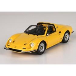 Ferrari Dino 246 GTS Yellow BBR BBRC54B