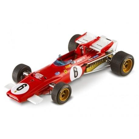 Ferrari 312B F1 Afrique du sud 1971 Mario Andretti Hotwheels T6285