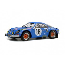 Alpine A110 1800S 18 Rallye Monte Carlo 1973 Andruet Espinosi Solido 1800808