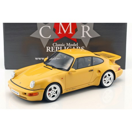 Porsche 911 / 964 Turbo S Leichtbau Speed yellow 1992 CMR CMR12018