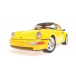 Porsche 911 Turbo 964 1990 Jaune Minichamps 155069100