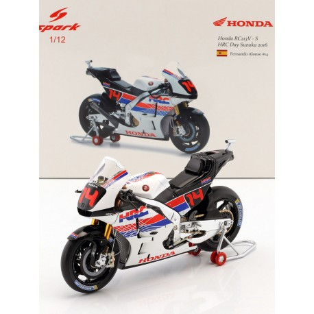 Honda RC213V 14 Fernando Alonso Honda Thanks Day Motegi 2016 Spark M12029