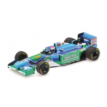 Benetton Ford B194 F1 Hongrie 1994 Jos Verstappen Minichamps 417941006