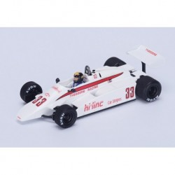 Theodore TY01 F1 Afrique du sud 1982 Derek Daly Spark S4315