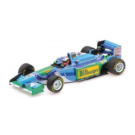 Benetton Ford B194 F1 Australie 1994 Johnny Herbert Minichamps 417941606