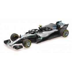 Mercedes F1 W09 EQ Power+ F1 2018 Valtteri Bottas Minichamps 410180077