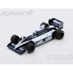 Brabham BT55 F1 Monaco 1986 Riccardo Patrese Spark S4349