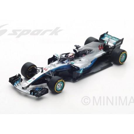 Mercedes F1 W09 EQ Power+ F1 2018 Lewis Hamilton Spark S6052