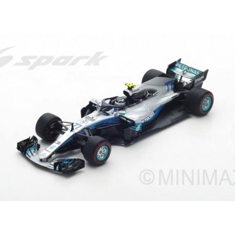 Mercedes F1 W09 EQ Power+ F1 2018 Valtteri Bottas Spark S6053