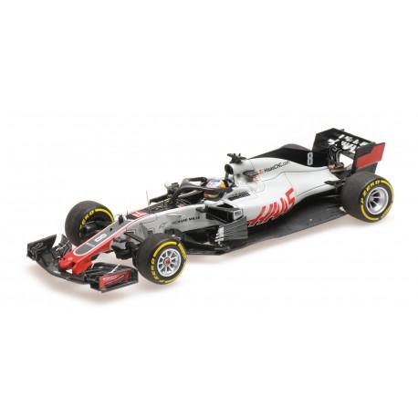 Haas Ferrari VF18 F1 2018 Romain Grosjean Minichamps 417180008