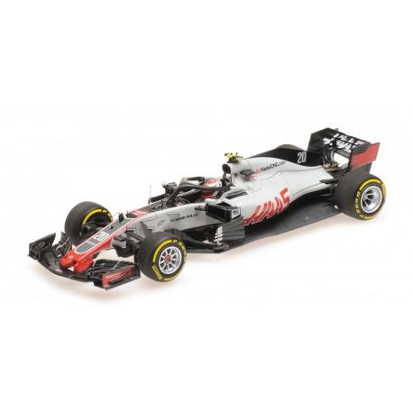 Haas Ferrari VF18 F1 2018 Kevin Magnussen Minichamps 417180020